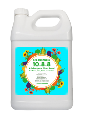 1 gallon 10-8-8 all purpose plant food