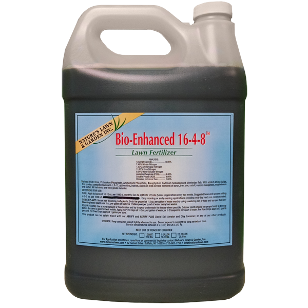 Bio-Enhanced 16-4-8 Liquid Lawn Fertilizer