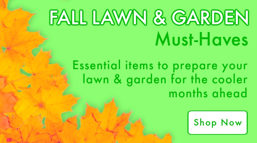 Fall Must Haves - Featured Callout - Natures Lawn - Lawncare and Indoor Gardening Products
