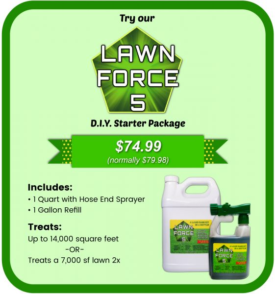 lawn force 5 starter kit