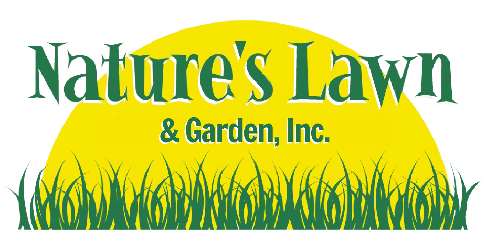 nature's lawn and garden logo