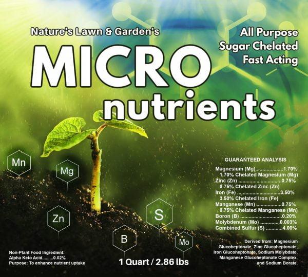 quart label micronutients