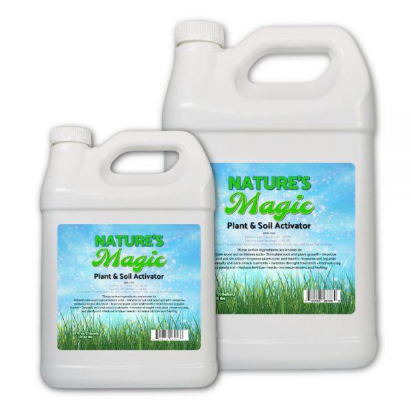 Nature's Lawn Nature's Magic humic acid kelp seaweed