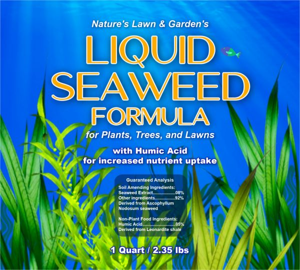 liquid seaweed label