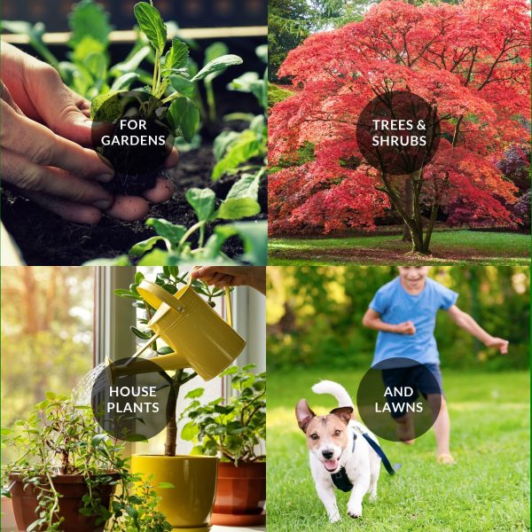 Nature's Lawn and Garden 10-8-8 use cases
