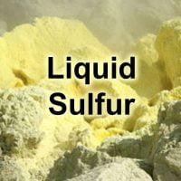 liquid-sulfur