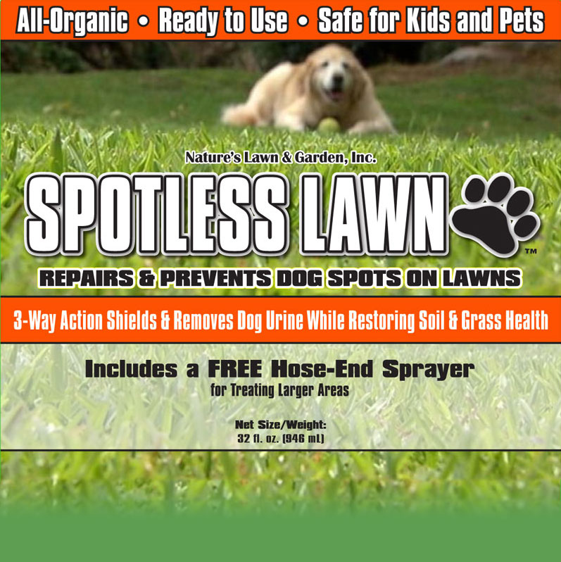 Spotless lawn repairs and prevents dog urine spots for How to fix dog urine spots on lawn
